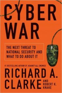 This book is about the threat of cyber war.