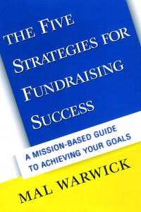 My books: The Five Strategies for Fundraising Success