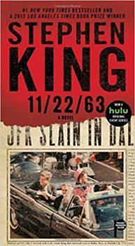 JFK assassination: 11:22:63 by Stephen Kingi