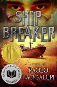 sci-fi novel: Ship Breaker by Paolo Bacigalupi