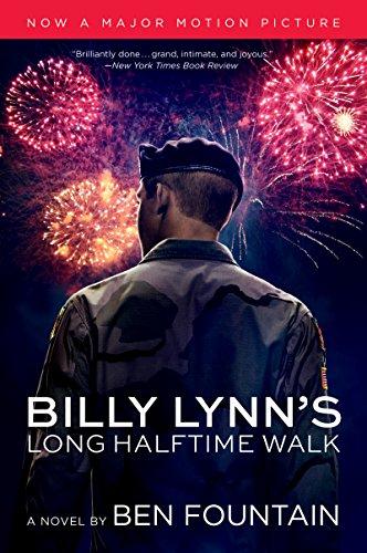 anti-war novel: Billy Lynn's Long Halftime Walk by Ben Fountain