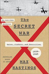 world war ii - The Secret War - Max Hastings