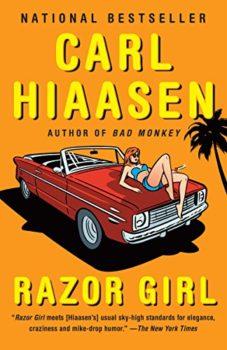 reality tv: Razor Girl by Carl Hiaasen