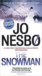 serial murders: The Snowman by Jo Nesbo