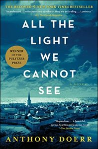historical novels - all the light we cannot see - anthony doerr